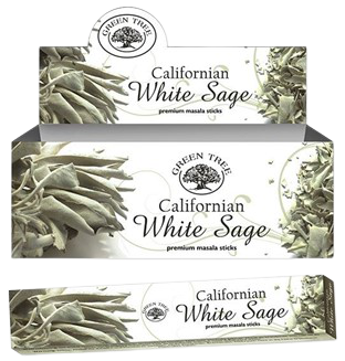 Green Tree Californian White Sage Stokjes