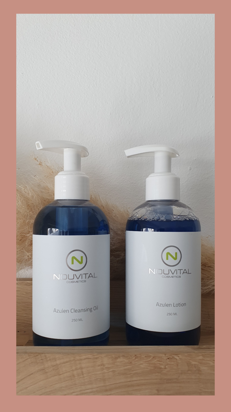 Azulen Cleansing Oil & Lotion