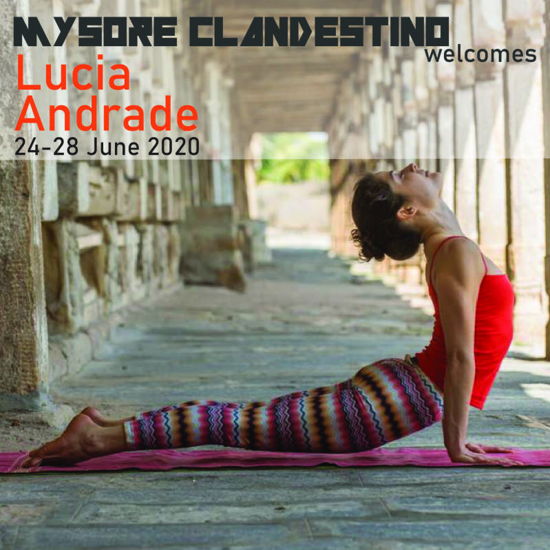 Guest Program June 2020 with Lucia Andrade- Early Bird