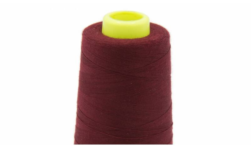 Lockgaren 3000 Yards Bordeaux rood