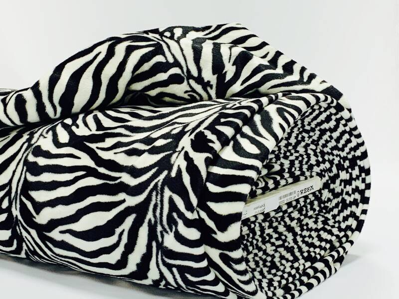Velboa Zebraprint small