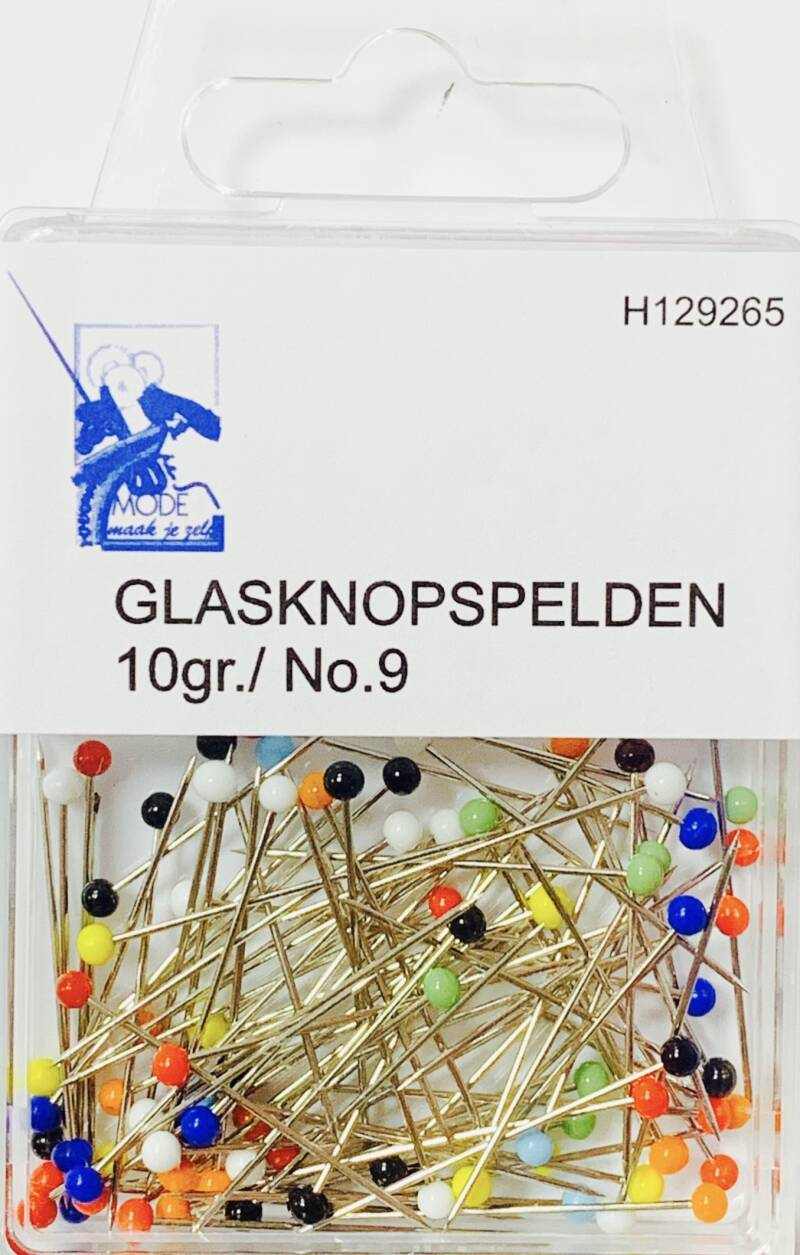 Glaskopspelden