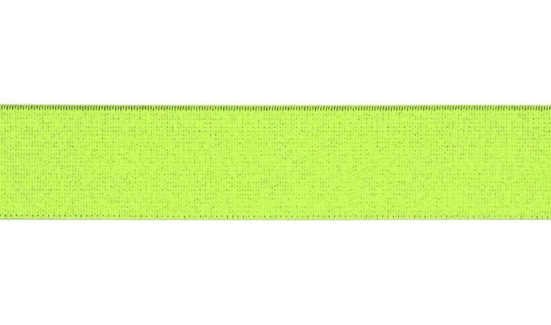 Elastiek band 30 mm Neon Green