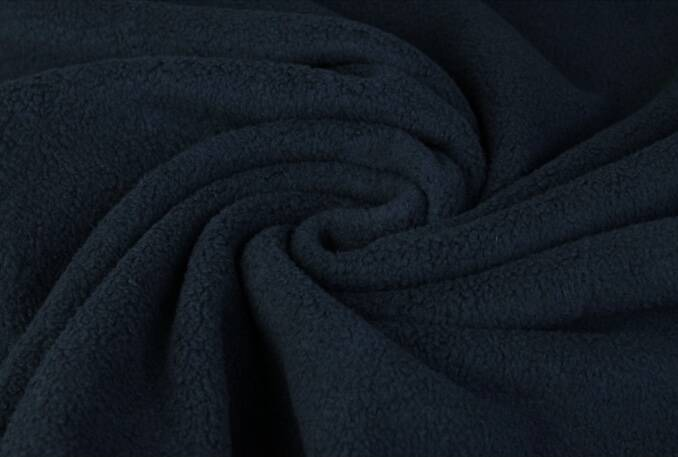 Sharpa fleece teddy katoen Navy