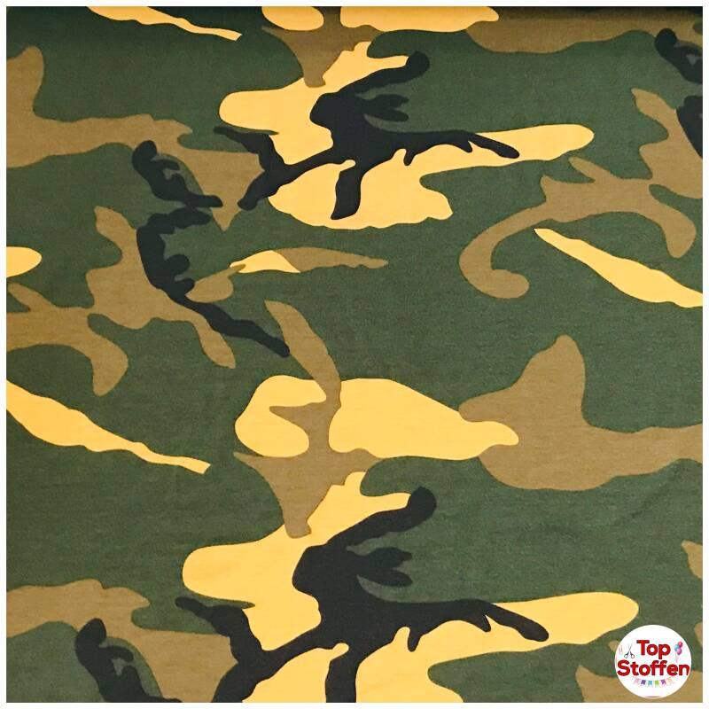 Qjutie tricot camouflage Army