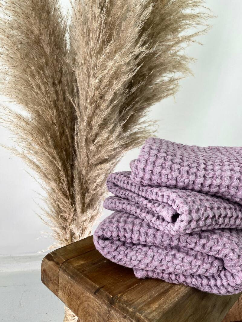 Bliss Linen - Towels Lilac