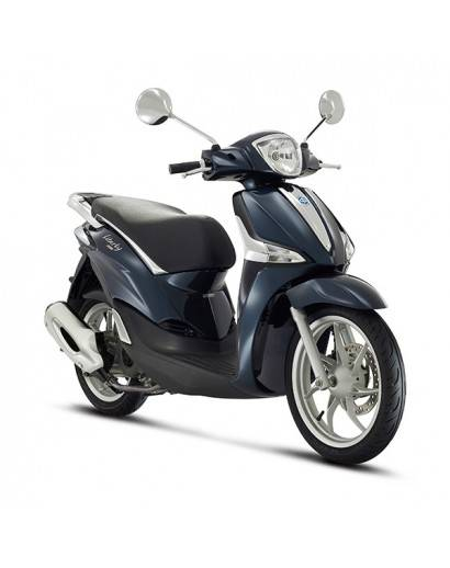 Piaggio Liberty IGET E4 4T - Blue Midnight 222/A (Blauw)