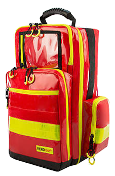 Rugtas Aero Case Emergency Backpack L rood