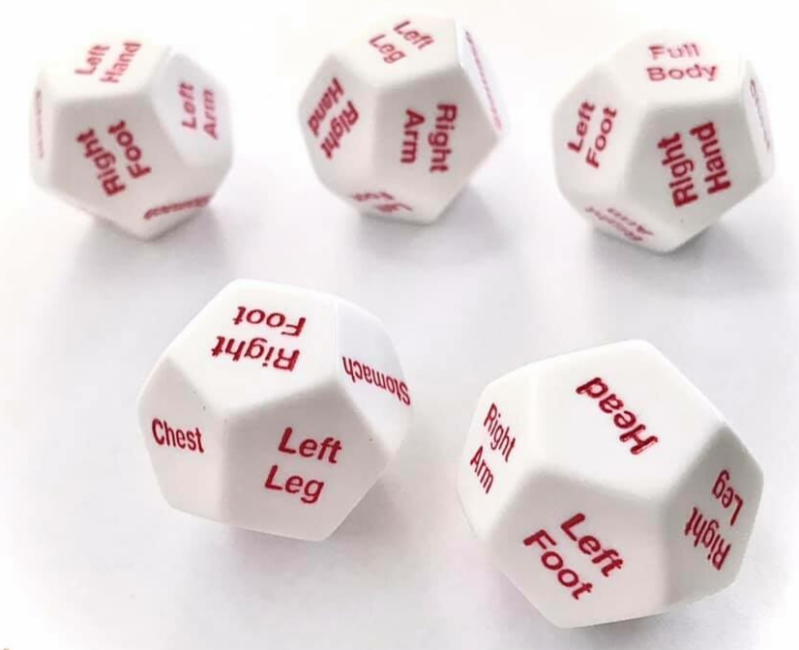 Bodyparts dice