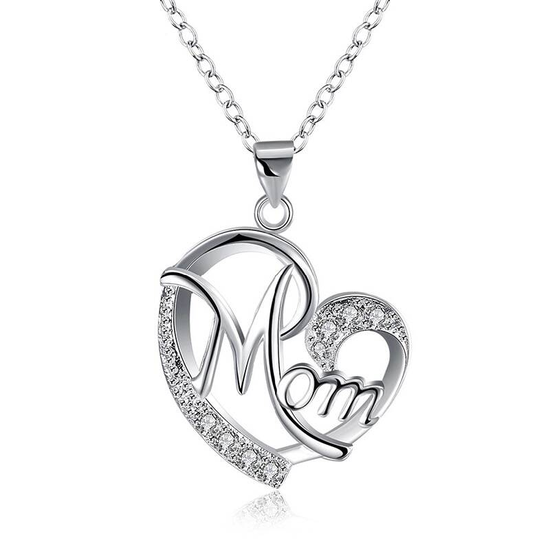 Luxe Mama Ketting Zilver