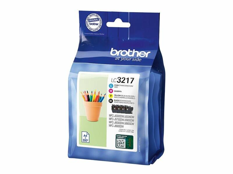 Brother LC3217 Pack de 4 cartouches
