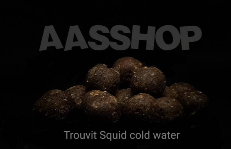 Trouvit squid cold water