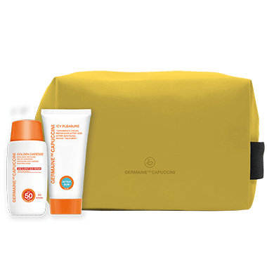 Promo Golden Caresse SPF 50 emulsie + aftersun
