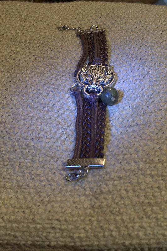 Wolven armband