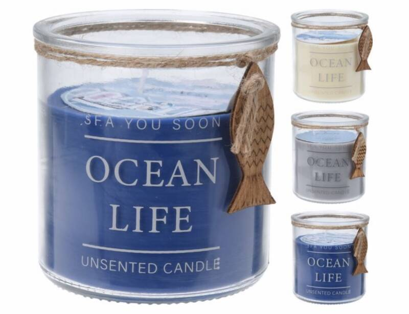 Ocean life candle
