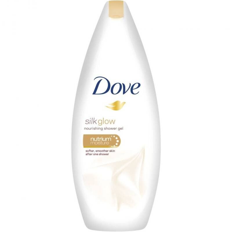 Dove Silk glow douchegel 500ml