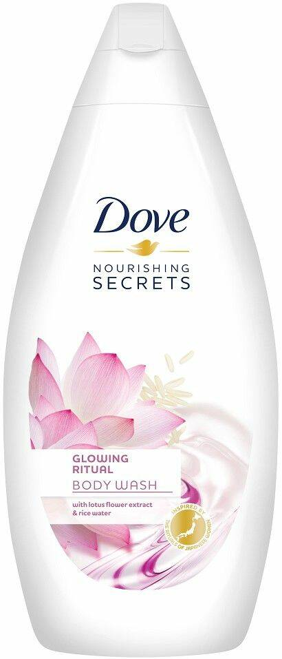 "Dove Shower Gel Women ""Glowing Ritual Lotus Flower"" - 500 ml"