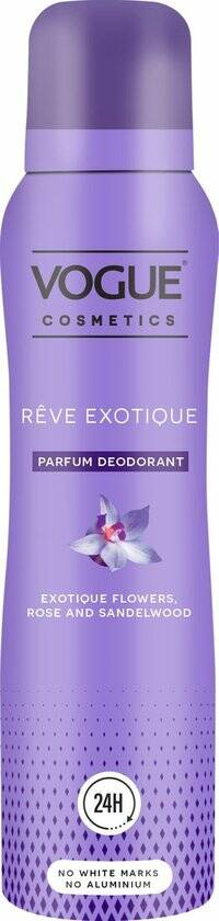 VOGUE Cosmetics Reve Exotique Parfum Deodorant 150ml