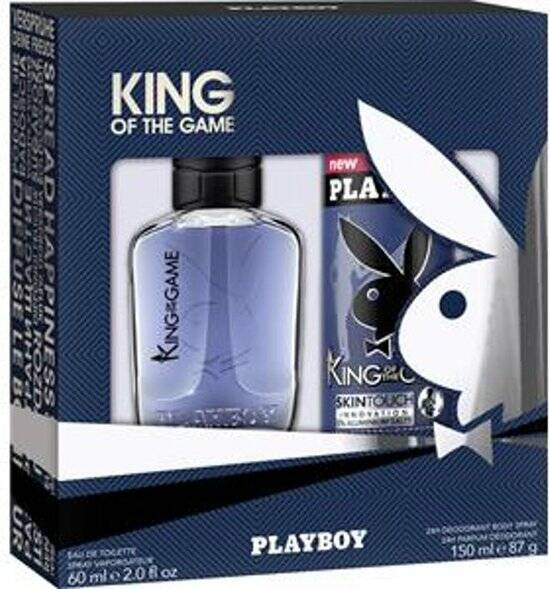 Playboy King of the game Geschenkset 2 pack