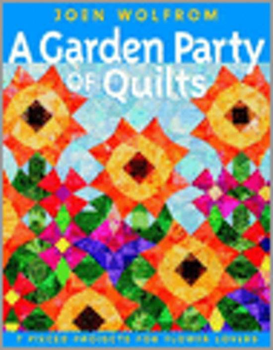Boek A Garden Party of Quilts