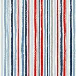 N6 - stof Chalk stripe, Sail Away by Makower