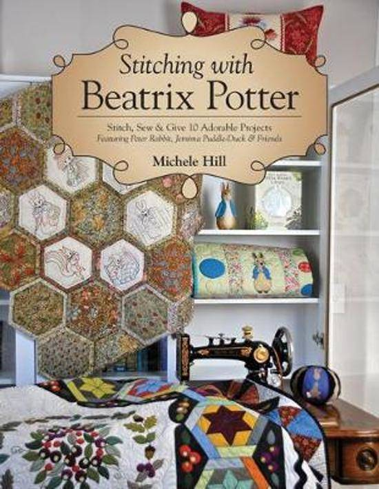 Boek Stitching with Beatrix Potter