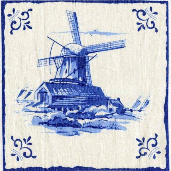Panel Dutch Tiles - Dutch Heritage