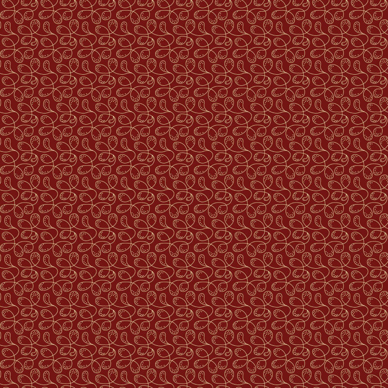 Q299 EQP TH -stof - Cranberry red- Dancing Queen