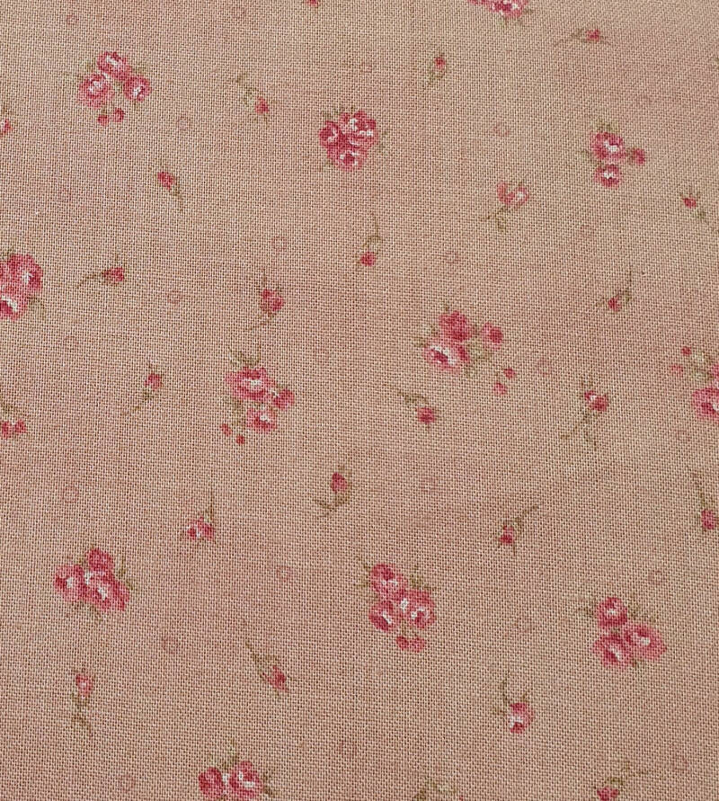Q23 - stof - beige roses by Lecien