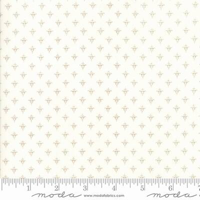 """Q28 - stof ecru """"Cottontail Cottage"""" - Bunny Hill Designs by Moda"""