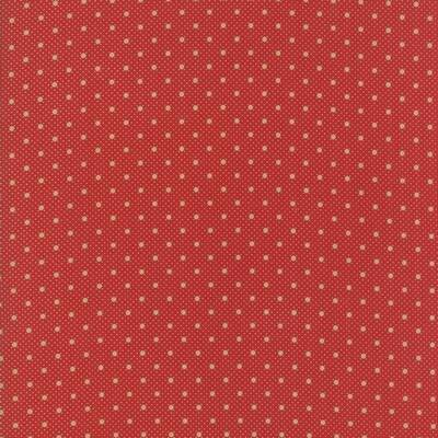 "Q46 - stof ""Farmhouse Reds"" - Minick & Simpson by Moda"