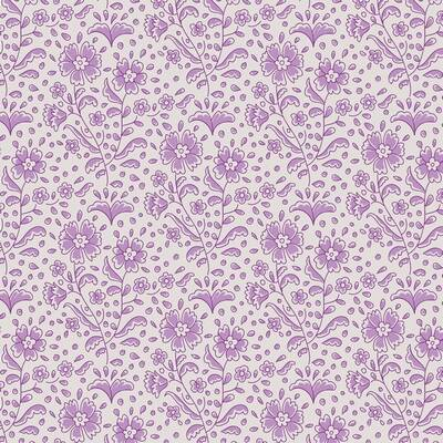 T26 - stof mila lavender serie The Bird Pond Collection by Tilda