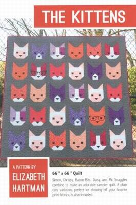 Patronenboek The Kittens van Elizabeth Hartman