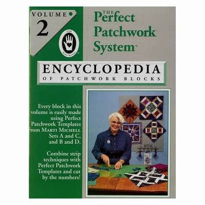 Boek Volume 2 Marti Michell Encyclopedia of patchwork blocks