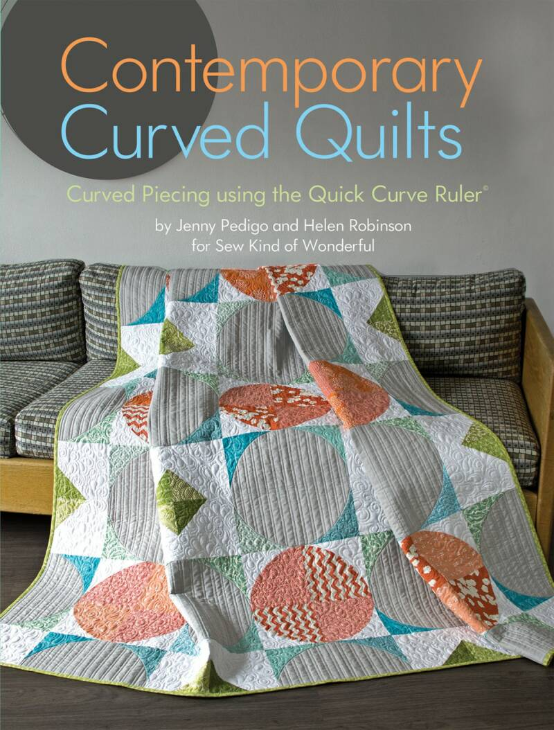 Boek Contemporary Curved Quilts