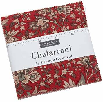 "Charm pack ""Chafarcani"" French General"