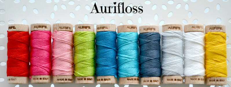 Aurifloss stitchery en borduurgaren