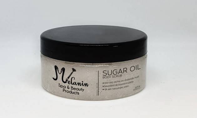 Sugar oil scrub