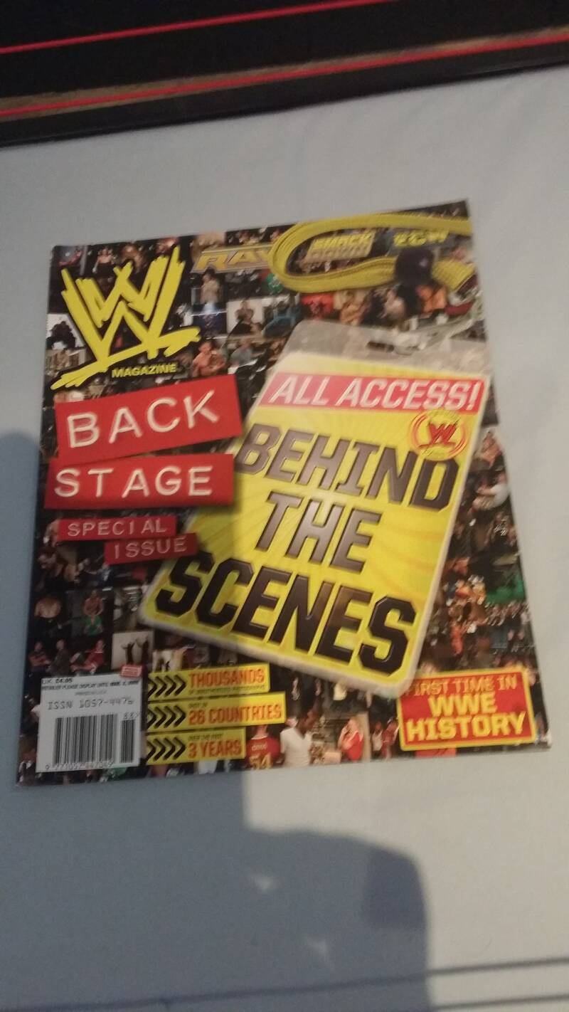 WWE Backstage special