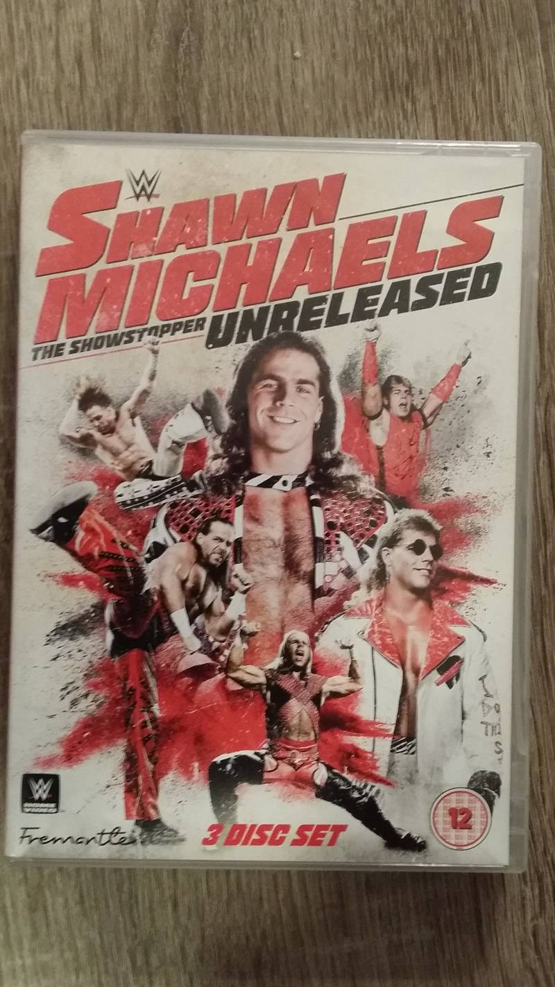 WWE Shawn Michaels unreleased collection DVD