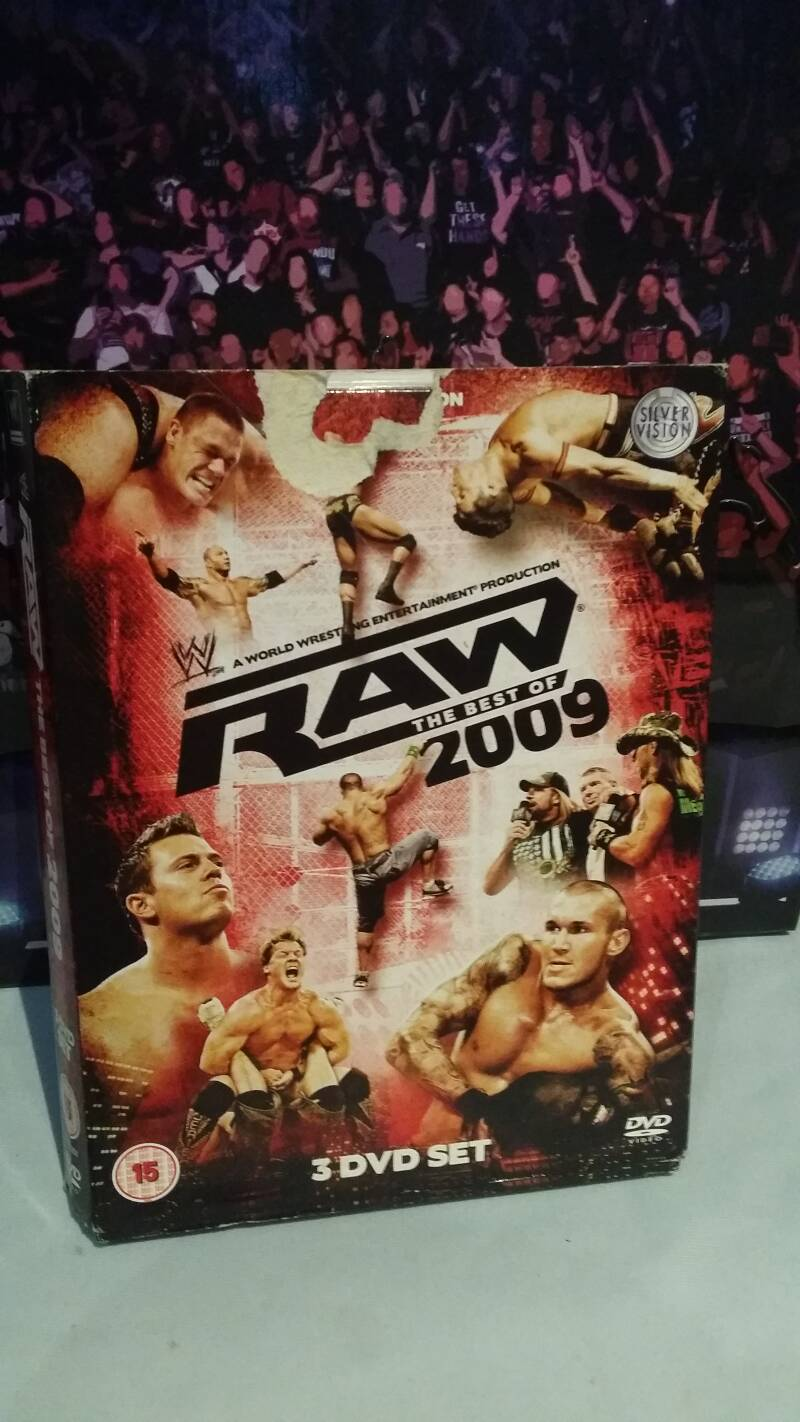WWE Best Of Raw 2009 DVD