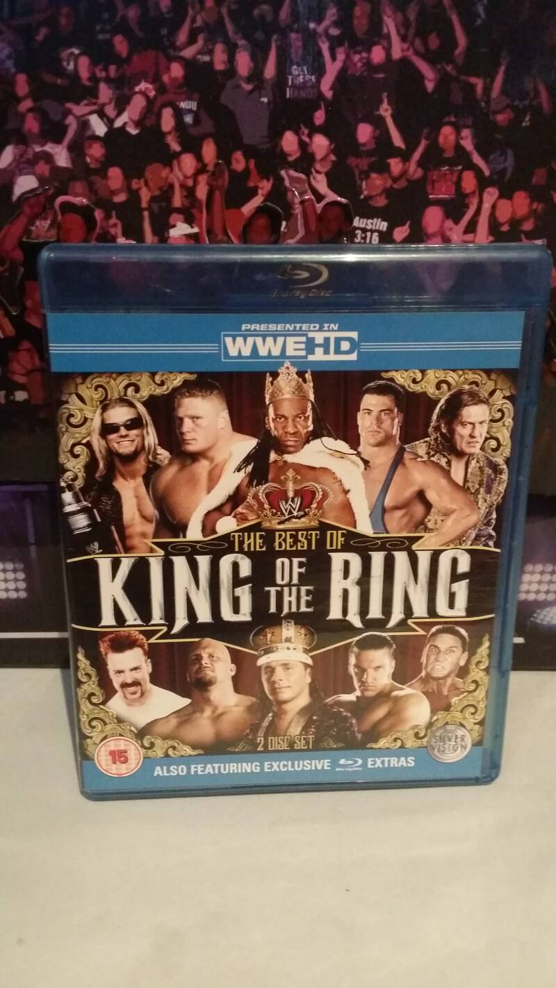 WWE Best of King of the ring blu-ray