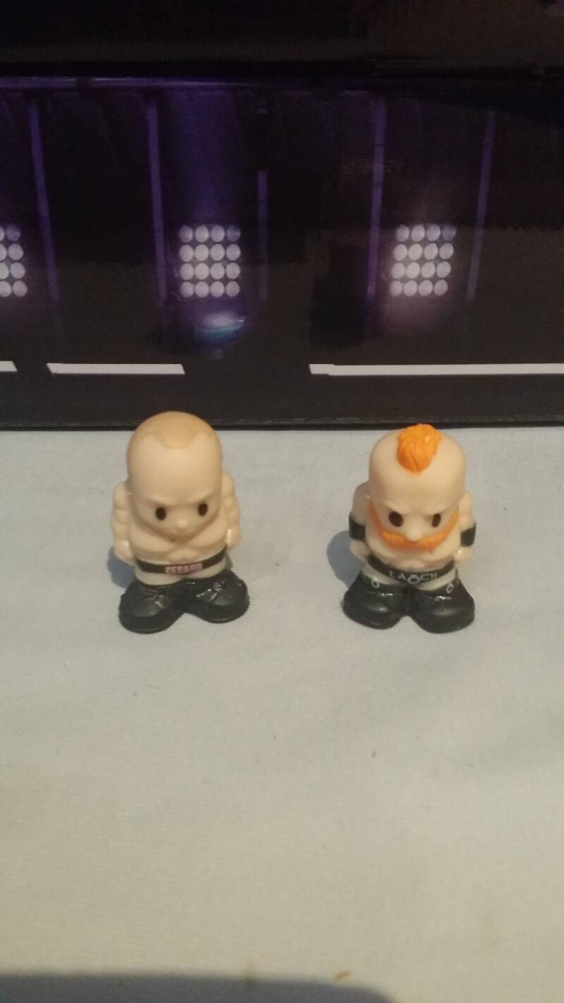 Ooshies Cesaro en Sheamus