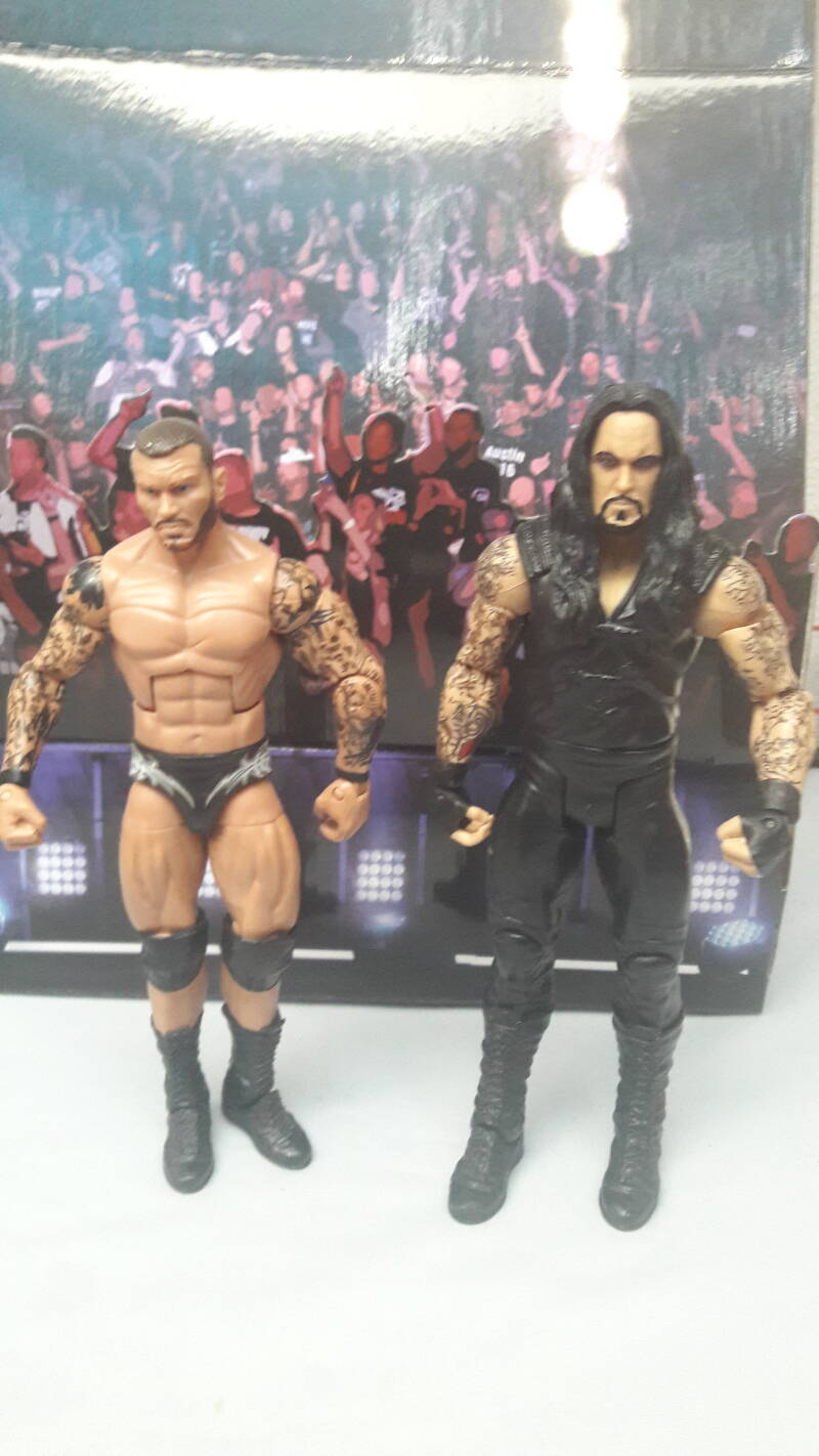 Undertaker vs Randy Orton bundel