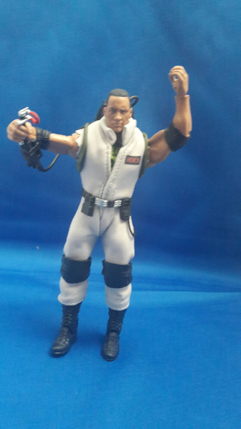 The Rock Ghostbusters elite