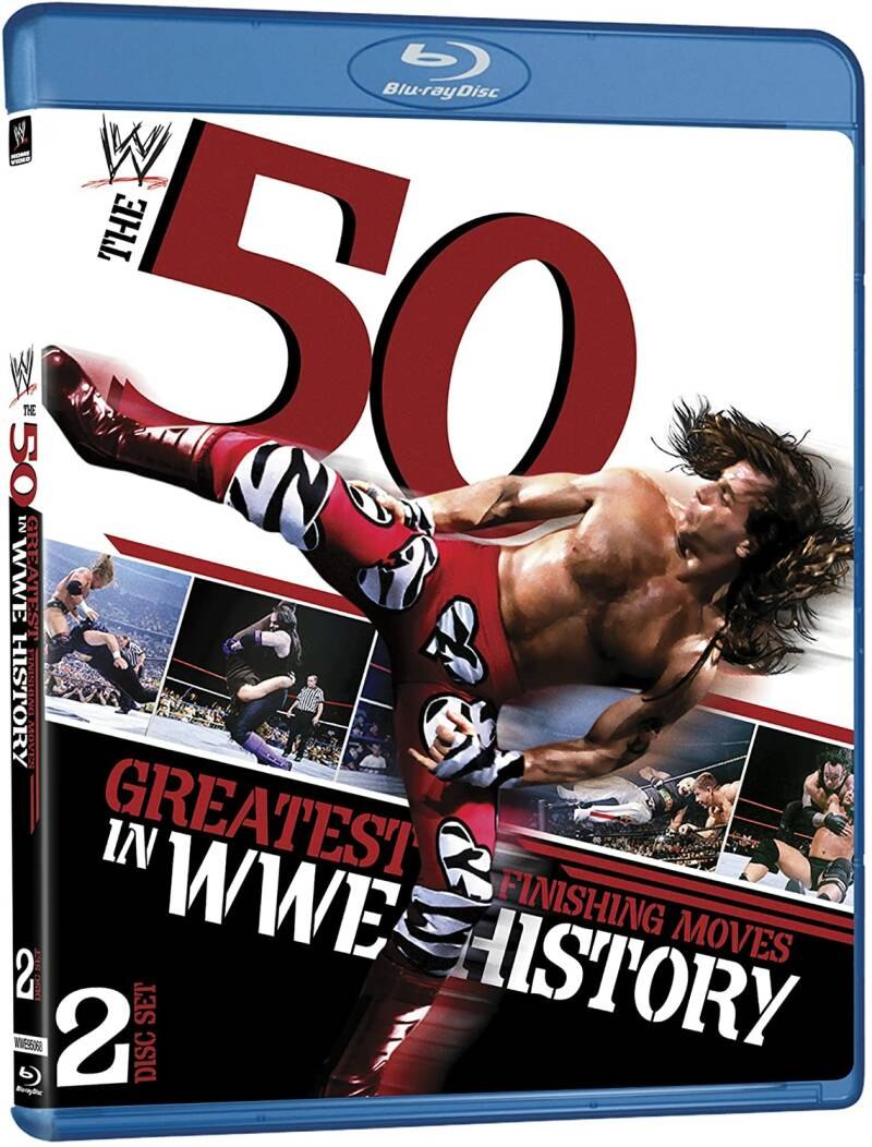 WWE 50 Greatest Finishing moves in WWE history Blu-Ray
