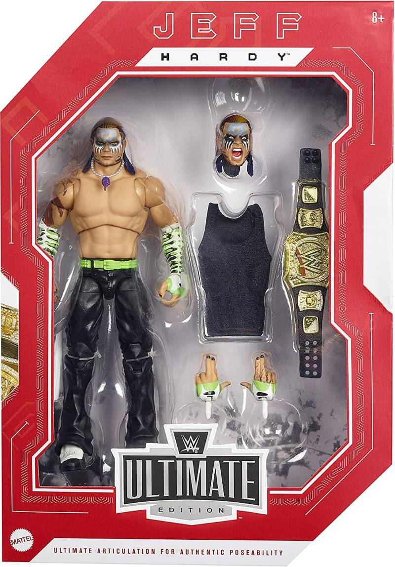 Jeff Hardy Ultimate Edition Fan Takeover