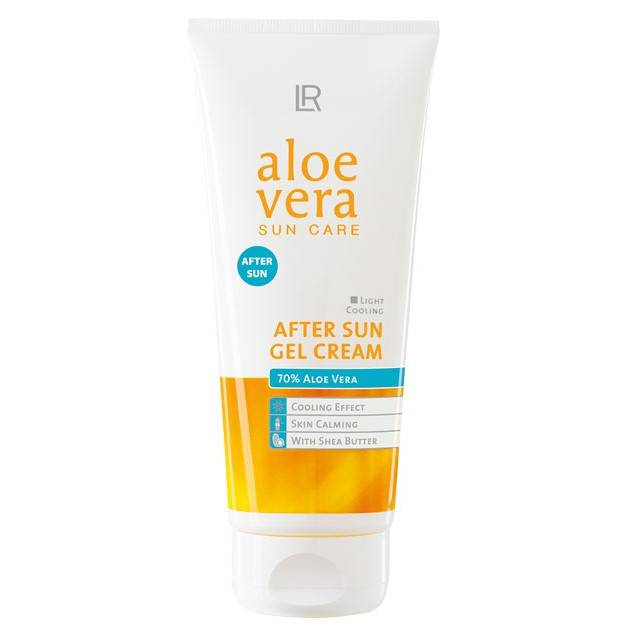 ALOE VERA AFTER SUN GEL CREAM