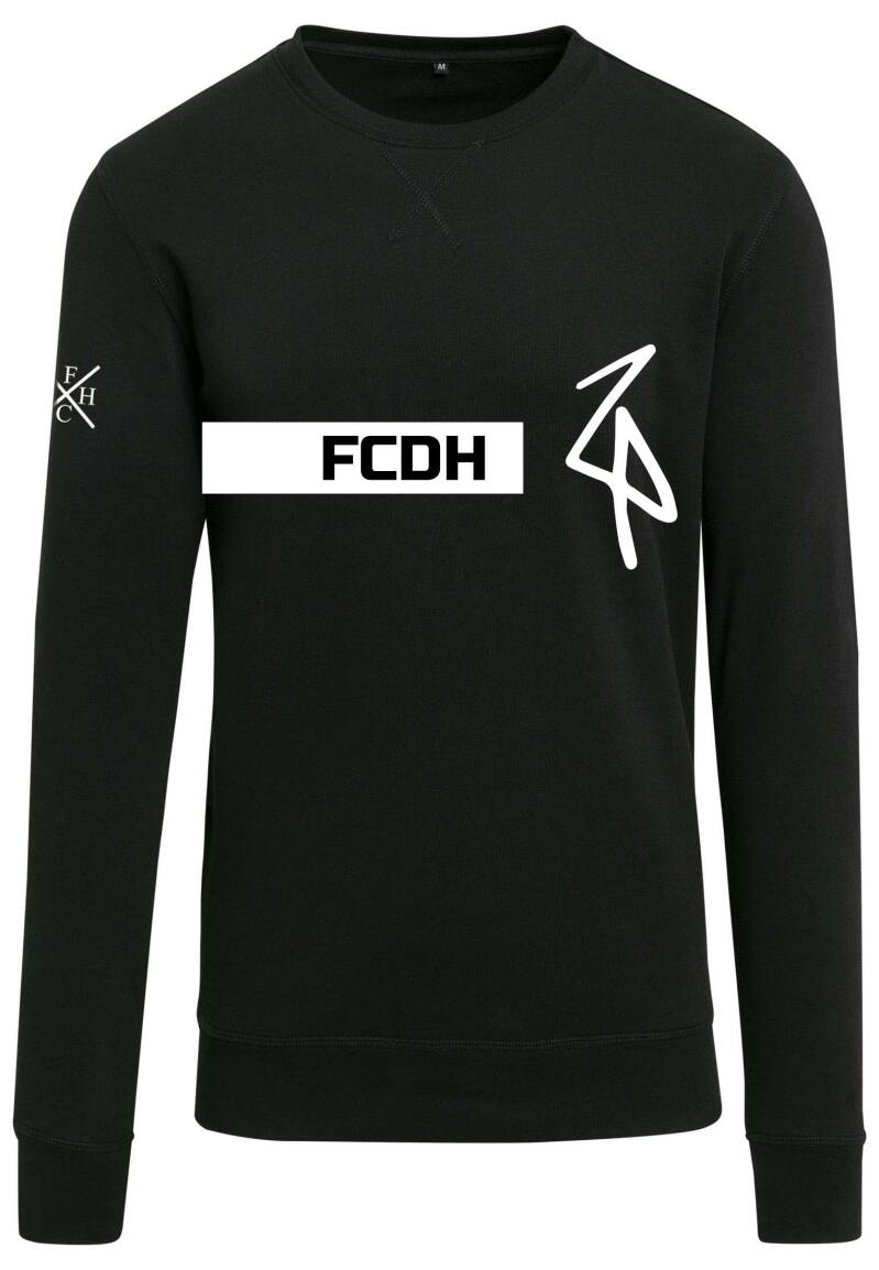 Sweater FCDH Rectangle zwart/wit