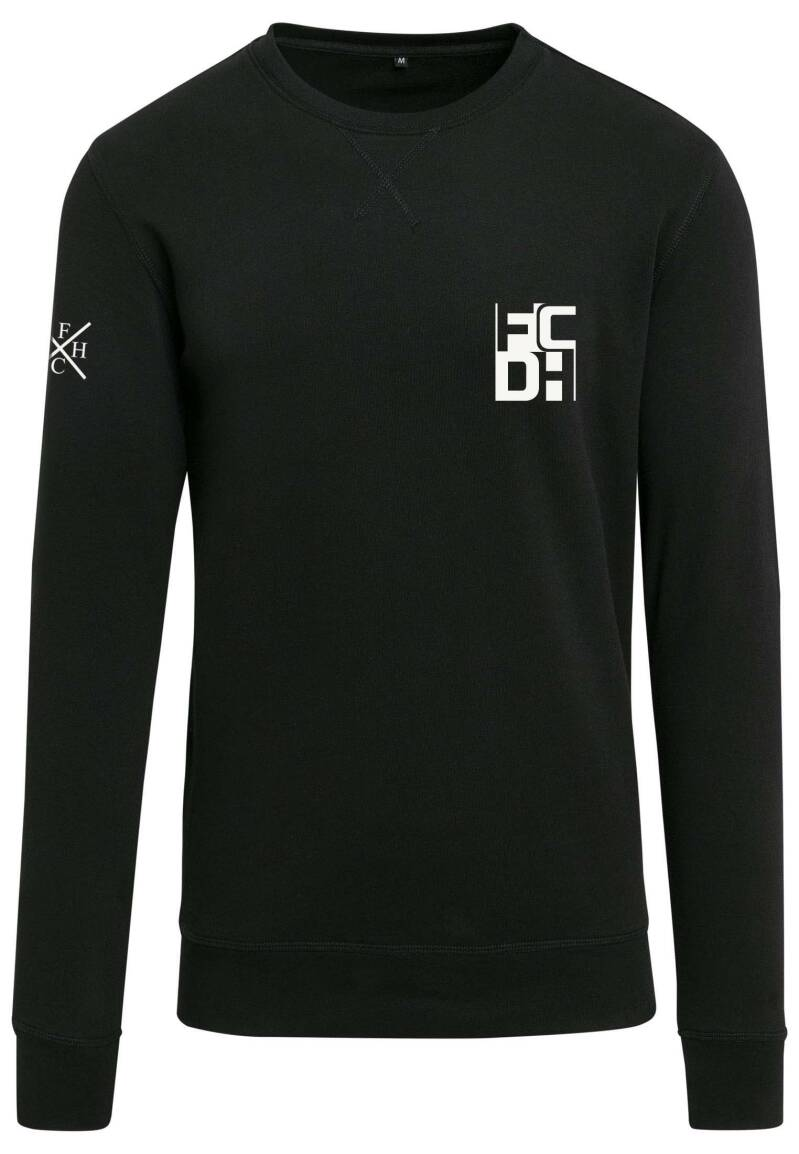 Sweater FCDH Square zwart/wit